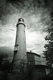 Darsser Place Lighthouse Royalty Free Stock Images