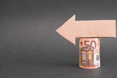 Darstellen Ihrer Finanzkopie Lizenzfreies Stockfoto