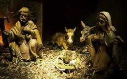 Darstellung des Geburt Christis lizenzfreie stockbilder