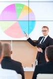 Darstellung im Konferenzsaal Lizenzfreies Stockfoto