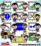 Darstellungen 1 - Geschäftsmann Baku Stockfotos