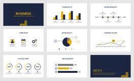 Darstellungsschablone der Sichtbarmachung der kommerziellen Daten moderne lizenzfreie abbildung