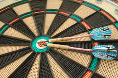 Dart #5. Dartboard background royalty free stock images