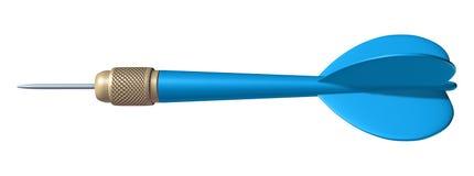 Dart aiming. Dart Aim success isolated on white vector illustration