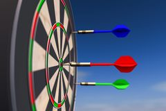A dart arrow Royalty Free Stock Photos