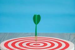 Dart arrow on target dartboard ,Business success stock images