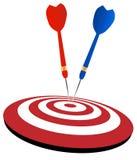 Dart arrows Stock Images