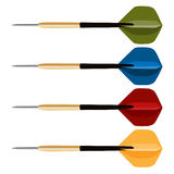 Dart arrows collection Stock Images