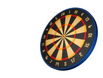 Dart board. 3d model dart board Stock Photo