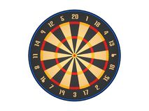 Dart board. 3d model dart board Stock Image
