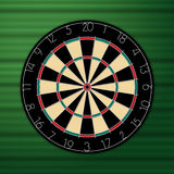 Dart board. A  drawing of dart board Royalty Free Stock Images