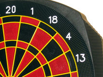 Dart Board. A Picture of a Dart Board Stock Photo