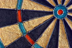 Dart Board. This is a close-up of a dart board Royalty Free Stock Image