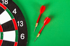Dart Board with Arrows Royalty Free Stock Photo