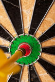 Dart Board Bulls Eye Royalty Free Stock Photos