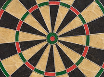 Dart board. Close up picture Royalty Free Stock Images