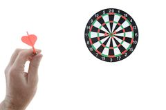 Dart Board Royalty Free Stock Photography