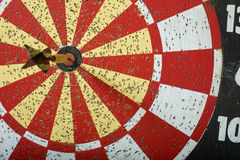 Dart Board with copy space Royalty Free Stock Photo