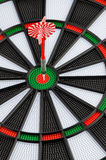 Dart board with dart Royalty Free Stock Photography