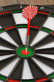 Dart board with dart Stock Image