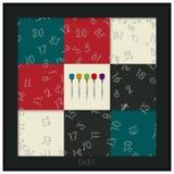 Dart board graphic. Conceptual dart board graphic design Royalty Free Stock Photo