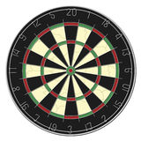 Dart Board - Isolated Royalty Free Stock Images
