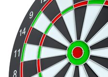 Dart board, isolated Stock Images