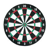 Dart board red and green isolated on white background arrow game business concept. Die cut keep path Royalty Free Stock Image