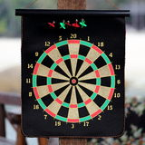 Dart Board. A Dart Board in a Resort Cafe For Its Guests/Visitors' Recreation Royalty Free Stock Images