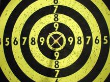 Dart-board und Ziel Lizenzfreies Stockbild