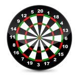 Dart board. Vector Illustration of a dart board stock illustration