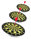 Dart Boards Stock Photo