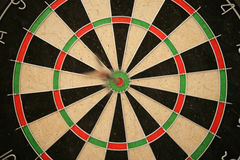 Dart in Bullseye Royalty Free Stock Photo