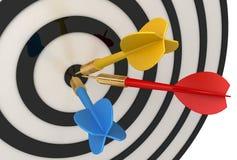 Dart (business success concept) Stock Images