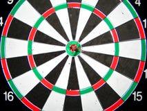 Dart in the center. Stock Photos