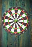 Dart in centre Royalty Free Stock Photos
