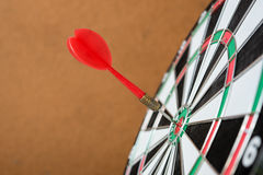 Dart is a competition and opportunity. Royalty Free Stock Photo