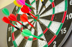 Dart compettition Royalty Free Stock Photo