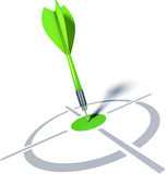 Dart. 3D rendering of an dart Stock Photography