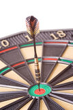 Dart in dartboard Stock Photography
