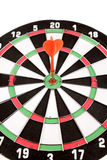 Dart in dartboard Stock Photos