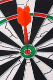 Dart and dartboard Stock Image
