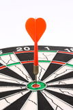 Dart and dartboard Royalty Free Stock Image