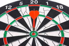 Dart and dartboard Royalty Free Stock Photography