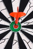 Dart and dartboard Royalty Free Stock Photo