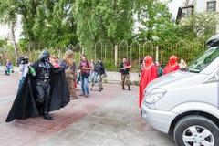 Dart Fener è in corsa per le elezioni importanti di Kiev Fotografia Stock