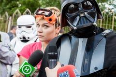 Dart Fener è in corsa per le elezioni importanti di Kiev Fotografie Stock Libere da Diritti