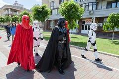 Dart Fener è in corsa per le elezioni importanti di Kiev Immagini Stock