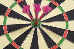 Dart Game Stock Images