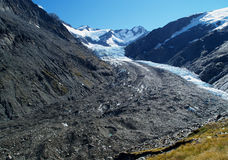 Dart glacier Stock Photography